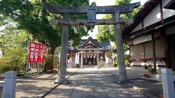 小戸神社の鳥居