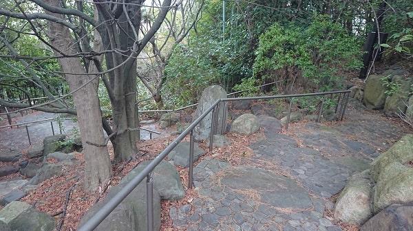 芦屋の緑地公園