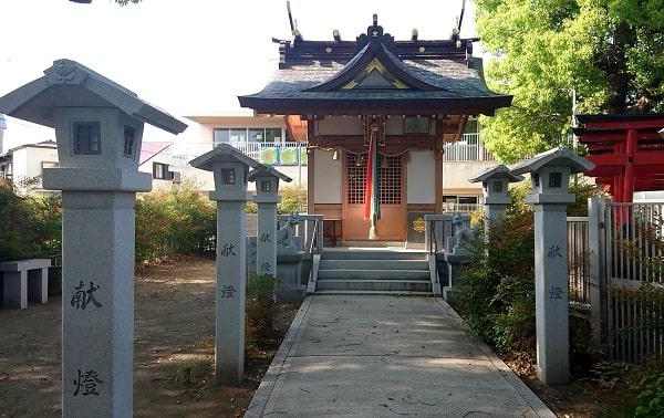 小戸神社の摂末社