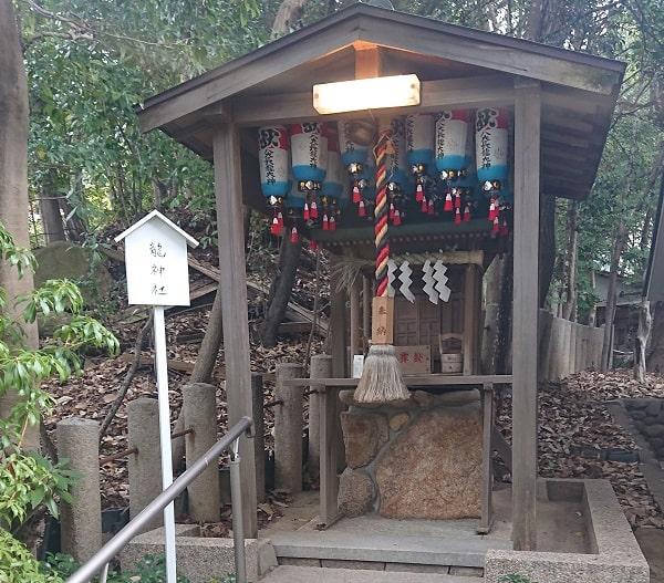 芦屋神社の龍神社