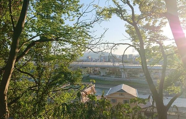 池田市の景色