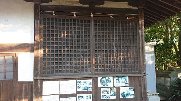 伊居太神社にだんじりが置かれていた