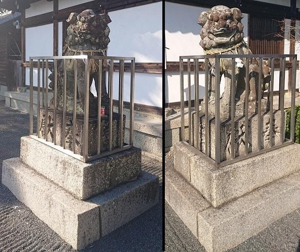 五社神社の狛犬