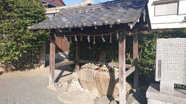五社神社の手水舎