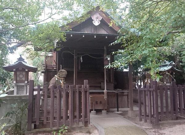 荒神社と恵比寿社