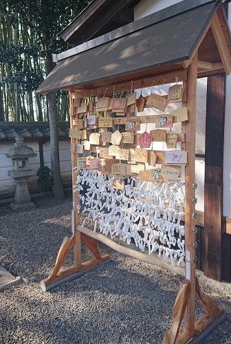 五社神社の絵馬とおみくじ