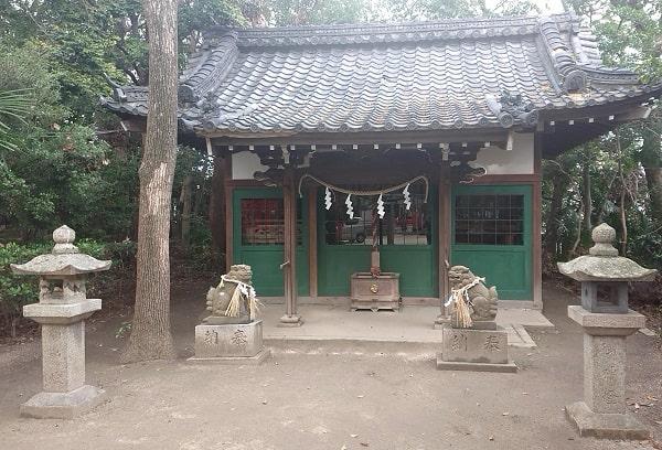 亀之森住吉神社の天満宮