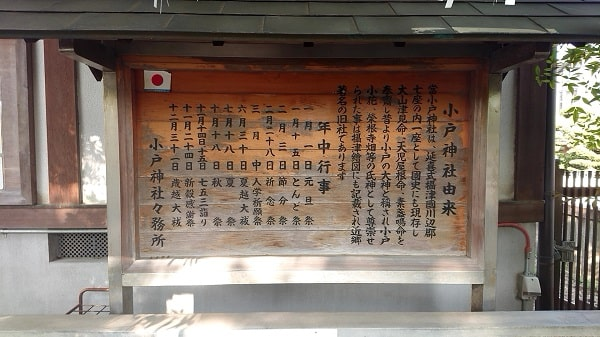小戸神社の由緒