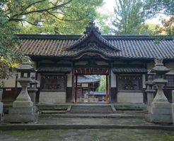 伊居太神社の入り口
