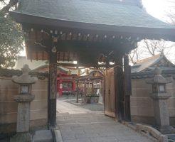 呉服神社の鳥居