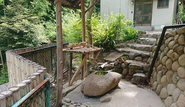 売布神社の手水舎