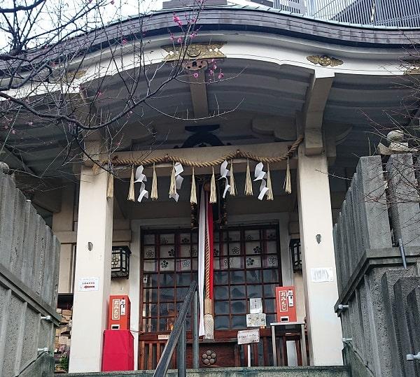 綱敷天神社御旅社の拝殿