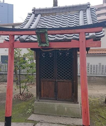 素盞烏尊神社の斎宮社