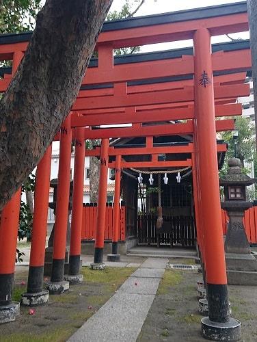 素盞烏尊神社の野の宮神社