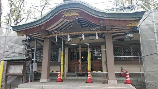 素盞烏尊神社の拝殿
