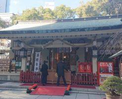 露天神社の拝殿