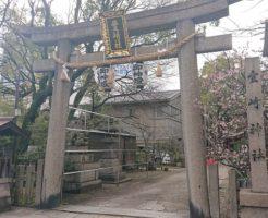 豊崎神社の鳥居