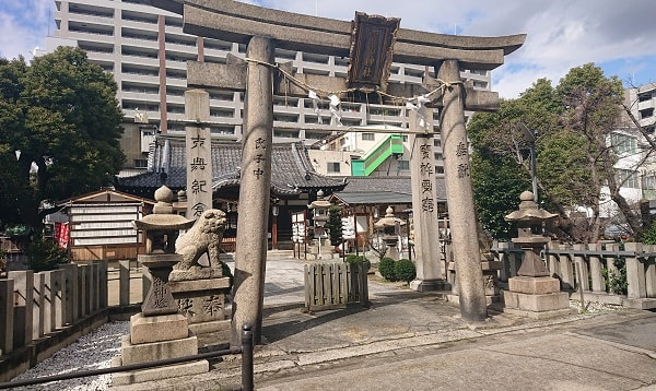 富島神社の鳥居