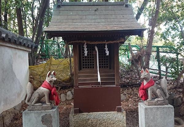 森稲荷神社の稲荷社