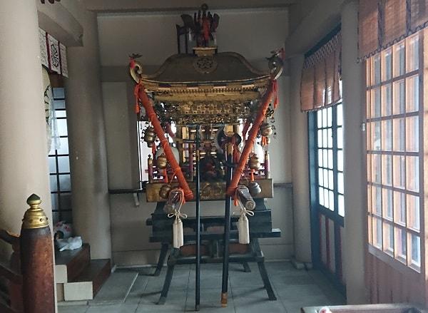 豊崎神社のこども神輿