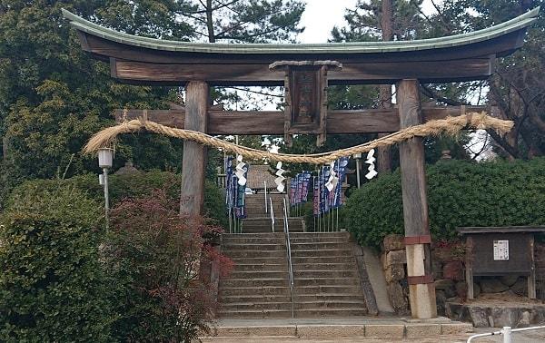 森稲荷神社の鳥居