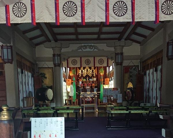 豊崎神社で参拝