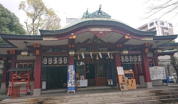 豊崎神社の拝殿