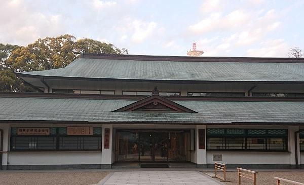 西宮神社の社務所