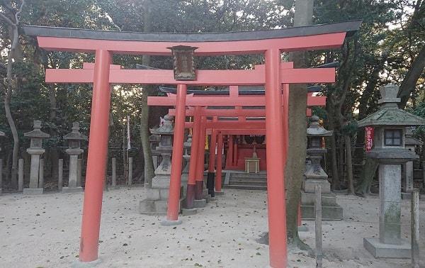 西宮神社の神明神社