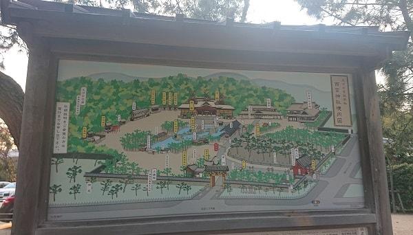 西宮神社の境内図