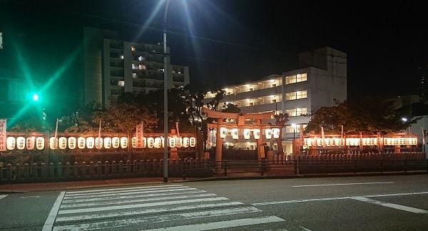 神明八幡神社の秋祭り