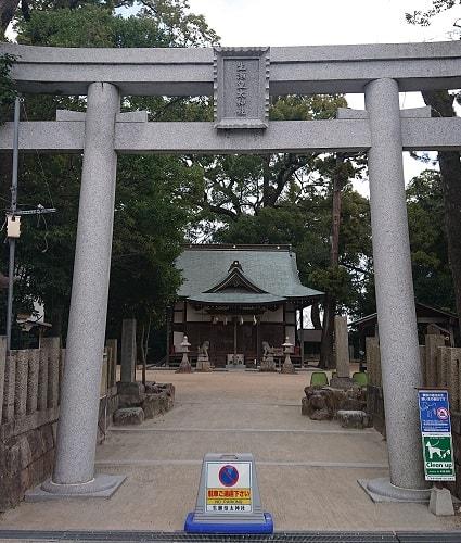 生瀬皇太神社の鳥居
