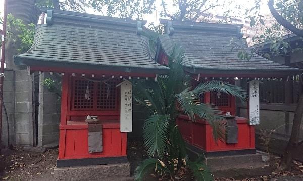 福部神社と老松神社