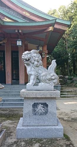 西天神社の狛犬