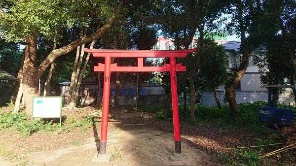 西天神社の稲荷神社