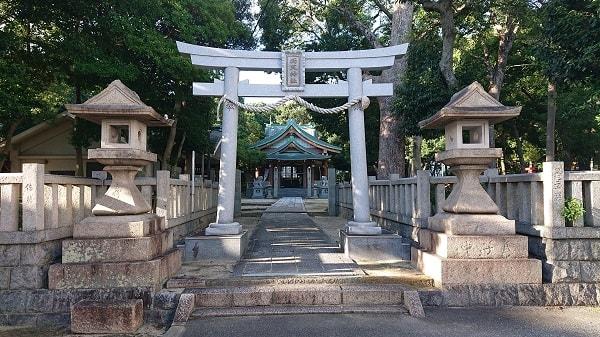 西天神社の鳥居