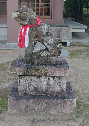 鴻池神社の狛犬