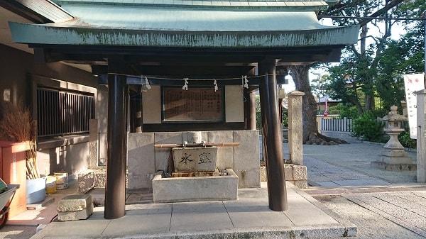東天神社の手水舎