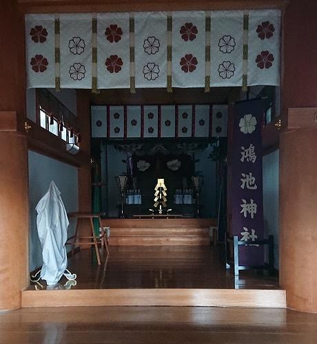 鴻池神社の本殿