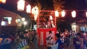 鴻池神社の盆踊り