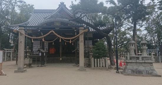 猪名野神社の本殿