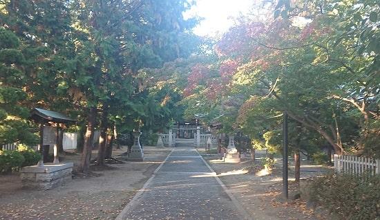 健速神社の境内