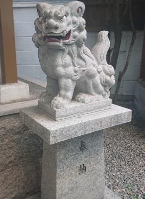 さいの木神社の狛犬
