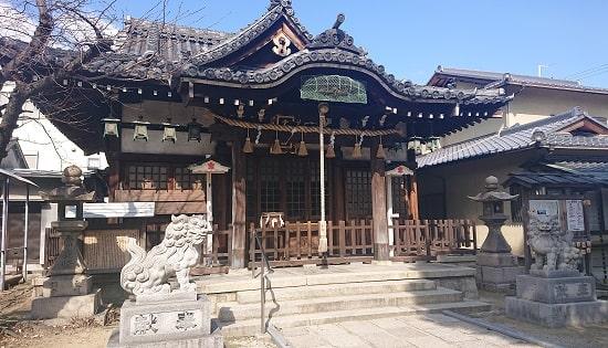 柴島神社の拝殿
