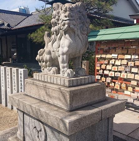 中島惣社のの狛犬