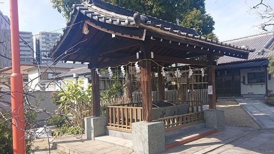 中島惣社の手水舎