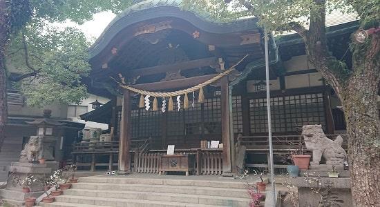 福島天満宮の拝殿
