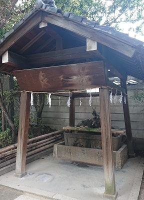 福島天満宮の手水舎