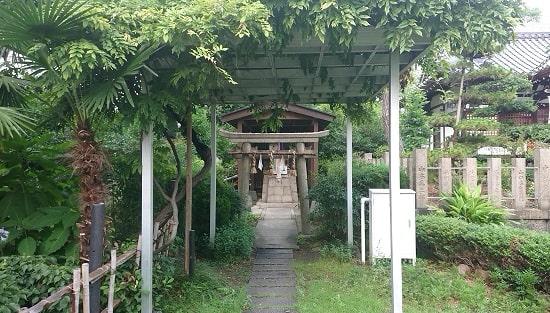 蒲田神社の恵比寿社