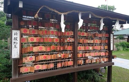 蒲田神社の絵馬